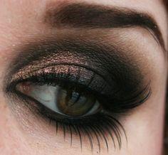 Colorful Makeups - Copper smokey.