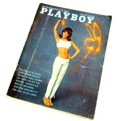Playboy Magazine July 1965 / Girls of the Riviera, Marcello... ($14) ❤ liked on Polyvore featuring fillers and books