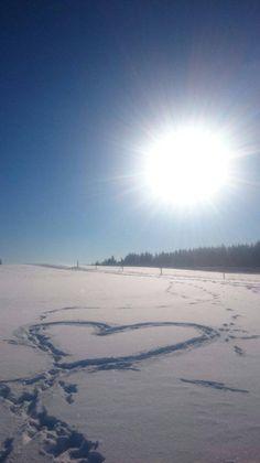 Winter in Oberfranken: Grüße aus Dörflas