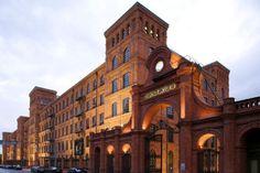 Poland Lodz, Manufaktura, Andel`s Hotel Łódź