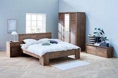 Bedframe VEDDE 160x200 wild eiken | JYSK Silver Walls, Bed Slats, Under Bed, Wood Beds, Plastic Sheets, Foam Mattress, Particle Board, Tudor, Bed Frame