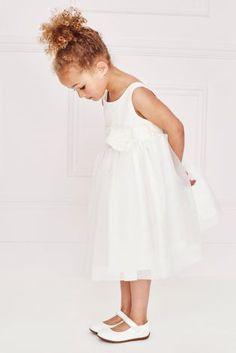 Ivory Corsage Bridesmaid Dress (3mths-16yrs)