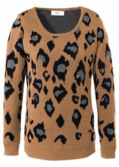 #pullover with leo #print