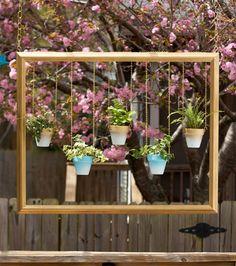 12 Excelentes DIY Ideas Hanging Planter para interiores e exteriores
