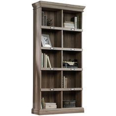 Featuring a cottage style, the Sauder Barrister Lane Bookcase II offers the perfect blend of style and efficacy. Featuring precise lines and immaculate cu...