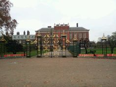Kensington Palace in Kensington, Greater London