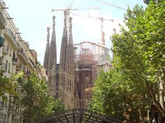 Sagrada Familia, Barcelona. From a great blog post on Barcelona by French Madame.