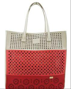 Only Designers Shop LLC - ALEXA BONE-CORAL-RED GENUINE LEATHER, $199.00 (http://onlydesignersshop.com/alexa-bone-coral-red-genuine-leather/)