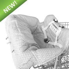 $34.99. Deluxe Baby Shopping Cart Cover/High Chair Cover By Toogli - Gray and White Chevron. Best Infant Grocery Cart Seat Cover for Boys or Girls. Cushy Comfort Padding. Lifetime Guarantee.