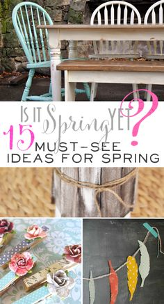 {Ella Claire}: Inspiration Exchange Link Party Features! Spring!