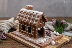 Schokohaus Landhäuschen_1513 Gingerbread, Projects To Try, Birthday, Food, Design, Apple Chicken, Milka Chocolate, Seafood Restaurant, Children Cake