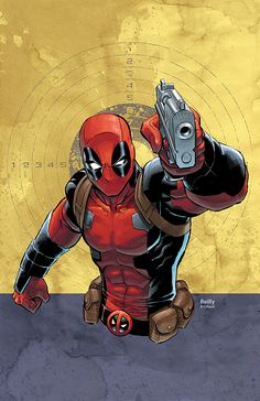 Deadpool by Reilly Brown *