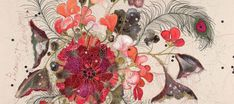 Creative Sketchbook: Embrace Embroidery with Louise Gardiner