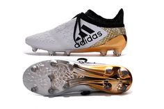 Chaussures adidas X 17+ PureSpeed FGAG Dust Storm Blanc