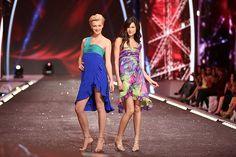 Tori's One-Shoulder Dress   #FashionStar