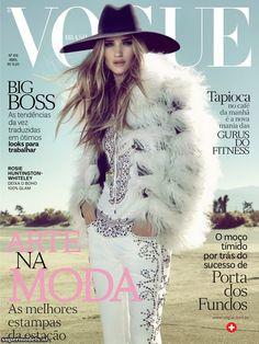 Vogue Brasil April 2013 - Rosie Huntington Whiteley