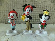 Warner Brothers Animaniacs Wakko,Yakko and Dot Ornaments/Figures BUY IT NOW