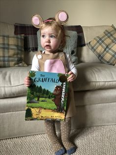 Mouse costume from the Gruffalo  sc 1 st  Pinterest & Little brown mouse from The Gruffalo costume | The Gruffalo ...
