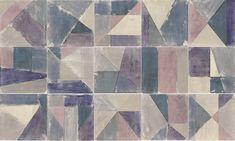 Mainzu Cementine Brush Azul 20 x 20 cm Decor, Rugs, Contemporary Rug, Contemporary, Home Decor
