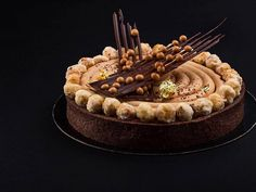 https://flic.kr/p/FCenGU | Chocolate hazelnut tart for my class at @peckale…