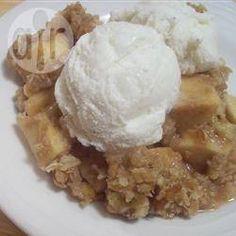 Slow Cooker Apple Crumble @ allrecipes.co.uk