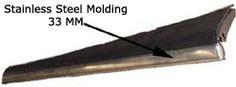 Running Board Molding,Stainless Steel, All Bug's,33MM  Item Number: 113853555 Price: $38.99 This is just the 33MM stainless steal molding by itself. #aircooled #combi #1600cc #bug #kombilovers #kombi #vwbug #westfalia #VW #vwlove #vwporn #vwflat4 #vwtype2 #VWCAMPER #vwengine #vwlovers #volkswagen #type1 #type3 #slammed #safariwindow #bus #porsche #vwbug #type2 #23window #wheels #custom #vw #EISPARTS