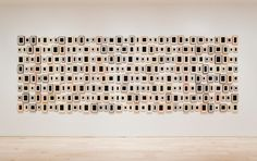 Allan McCollum, Collection of Two Hundred and Eighty-eight Plaster Surrogates, 1982/1989 (installation view, Collecting Biennials, Whitney Museum of American Art,2010) 2000.190a-bbbbbbbbbbbb