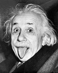 Einstein by Dorothea Lange