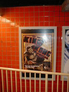 Universal Studios Florida Kongfrontation queue posters