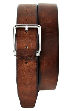 Trafalgar 'Garrett' Leather Belt