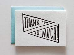 Iron Curtain Press thank-you card (Made in Los Angeles, California) #madeinusa #madeinamerica