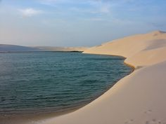 is among the most fantastic places of the world which is located in the north-east of It has an area of about 1000 square kilometers. The white sand dunes rises up to 50 meters and seems like a giant bed sheets from the air. Giant Beds, Brazil Beauty, Car Rental, Bed Sheets, Destinations, National Parks, World, Beach, Ponds