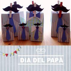 Para el dia del Papá... :)   Mustache, gift packaging
