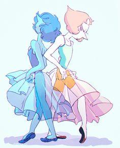 SU art,Steven universe,фэндомы,SU Персонажи,Pearl (SU),Blue Pearl
