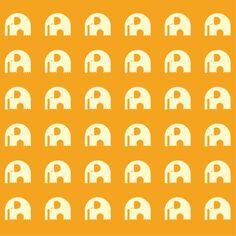 tapet elefant / miniroom.se