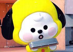 K Pop, Bts Gifs, Emoji Faces, Main Theme, Blackpink And Bts, Line Friends, Bts Chibi, Bts Video, Cute Funny Animals