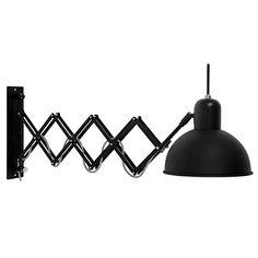 It`s About RoMi - Wandlampe ABERDEEN Eisen Schwarz matt, 169,00 &eur