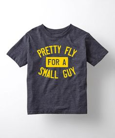 Heather Blue 'Pretty Fly for a Small Guy' Tee - Toddler & Boys