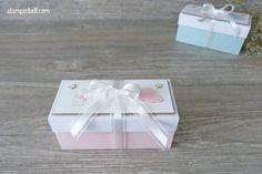 Geschenkschachtel Geschenk Verpackung Baby Zum Nachwuchs Geldgeschenk verpacken Stampin Up