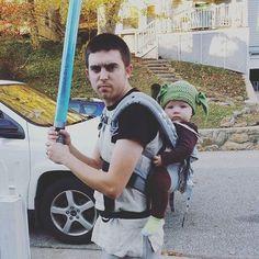 Star Wars Yoda Kostüm selber machen   Kostüm Idee zu Karneval, Halloween & Fasching