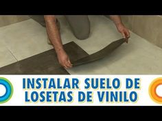 Instalar un suelo de losetas de vinilo (BricocrackTV)