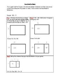 4th grade area model division - Google Search Sixth Grade Math, Fourth Grade Math, Teaching Numbers, Teaching Math, Teaching Ideas, Math Division, Long Division, Division Worksheet, Family Worksheet