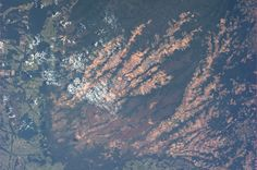 West central Brazil.  Taken July 29, 2013.  KN from space.