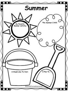 SURFING INTO SUMMER - END OF YEAR ACTIVITIES - Fun end of year classroom activities for students. This is so cute.  This product was created using the beach theme.