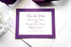 Made to match our Monogram Wedding Invitation Set. Paper, colors and fonts can all be customized to reflect your wedding. Purchase this $50 DEPOSIT listing to go towards your order total and complete