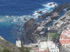 Vista de piscinas Garachico