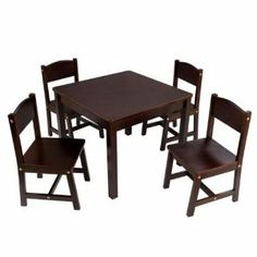 Elegant Kidkraft Activity Table Espresso