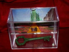 The Wizard Of Oz's Key To The Emerald City...This is A Large Display Ready for shipping
