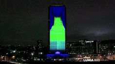3D mapping Presentacion de producto - Nokia Lumia Live ft deadmau5 light...