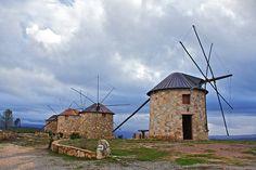 Moinhos da Serra da Atalhada  /  Windmills in Portugal, Moinhos da Serra da Atalhada - Turismo Rural - Penacova, Centro de Portugal